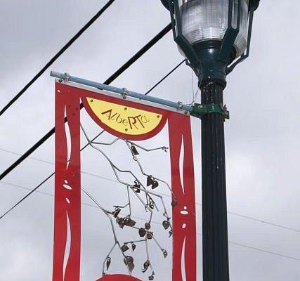 Alberta Street Banners