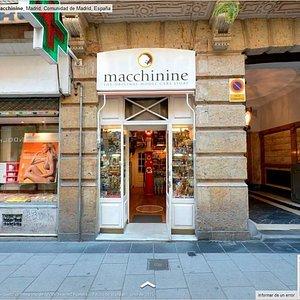 Entrada a macchinine desde Goggle Places... toda una experiencia!