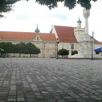 Museum building and main square