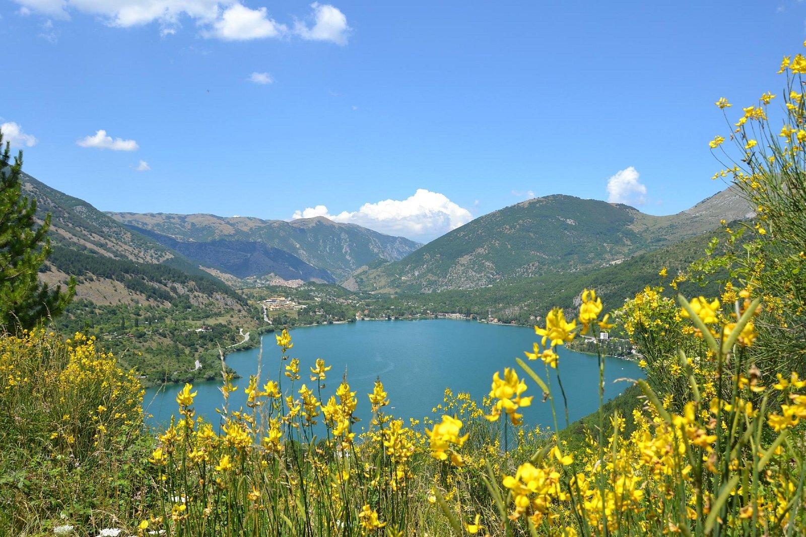 Lago visto dell'Eremo di Sant'Egidio