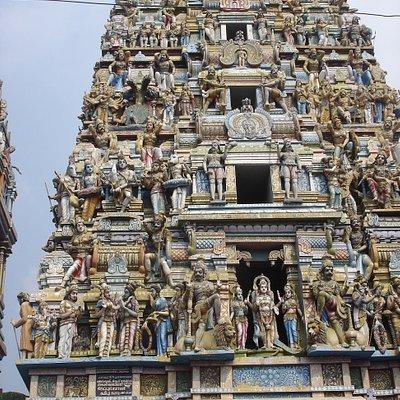 Hindu Temple's monumental tower