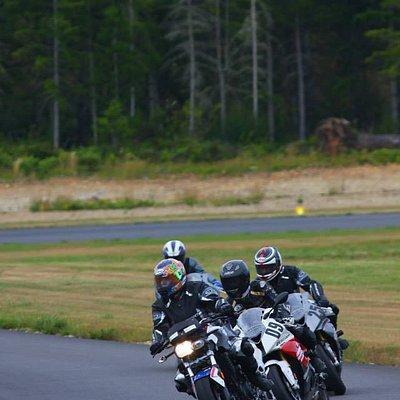 Sportbike racing in a class setting. FUN!