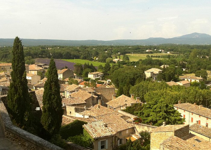 THE VIEW FROME THE CASTEL