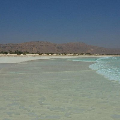 Aomak Beach: the Indian ocean