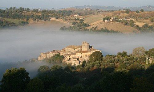 Panorama del paese Fianello