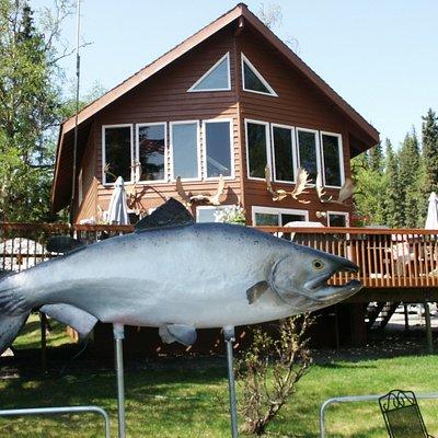 Main Lodge and deck