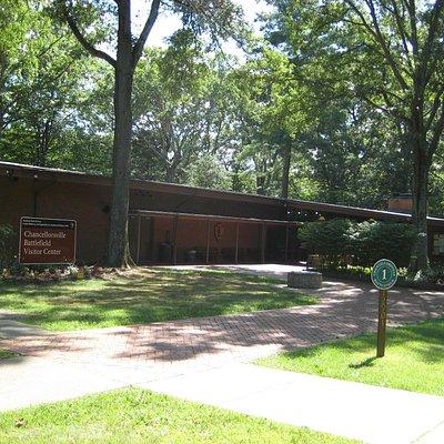 The Chancellorsville Battlefield Visitor Center.