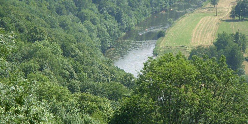 Petite partie de la vallée de Rochehaut.