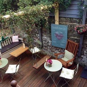 Secret Garden Café at the Joanne Harmer Gallery