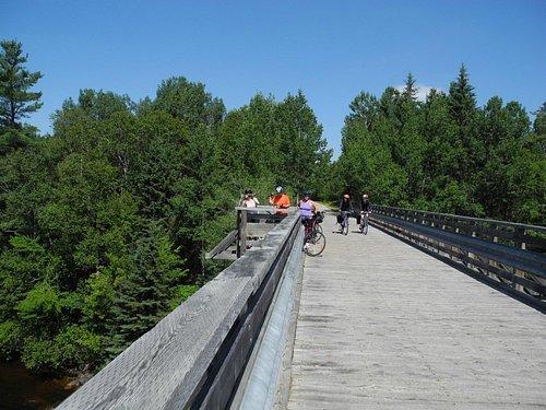 bridges along the trail