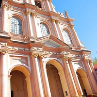 Fachada de la Iglesia de San Francisco.