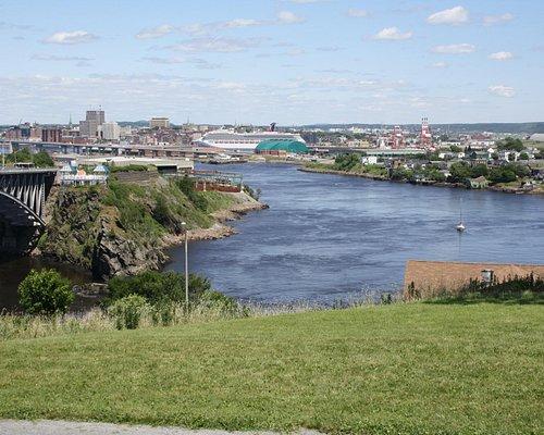 Saint John River from Woolastook Park