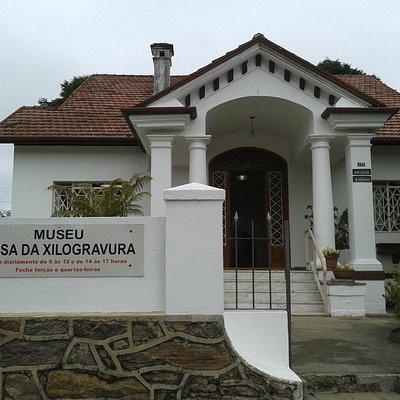 Entrada da Casa da Xilogravura