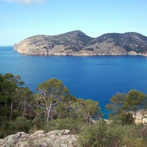 CR1 Peguera-Cap Andritxol Hiking Trail