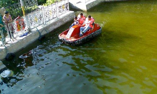 Boating at Panch pula