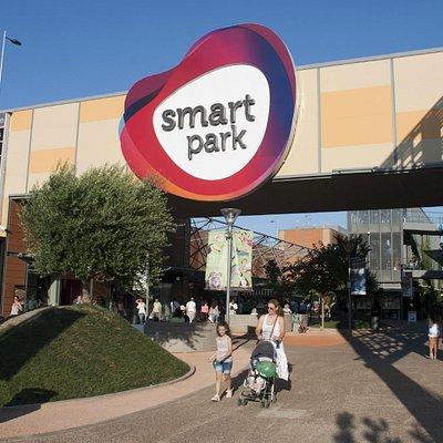Smart Park entrance