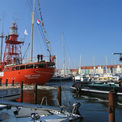 Noordhinder in the harbour of Hellevoetsluis