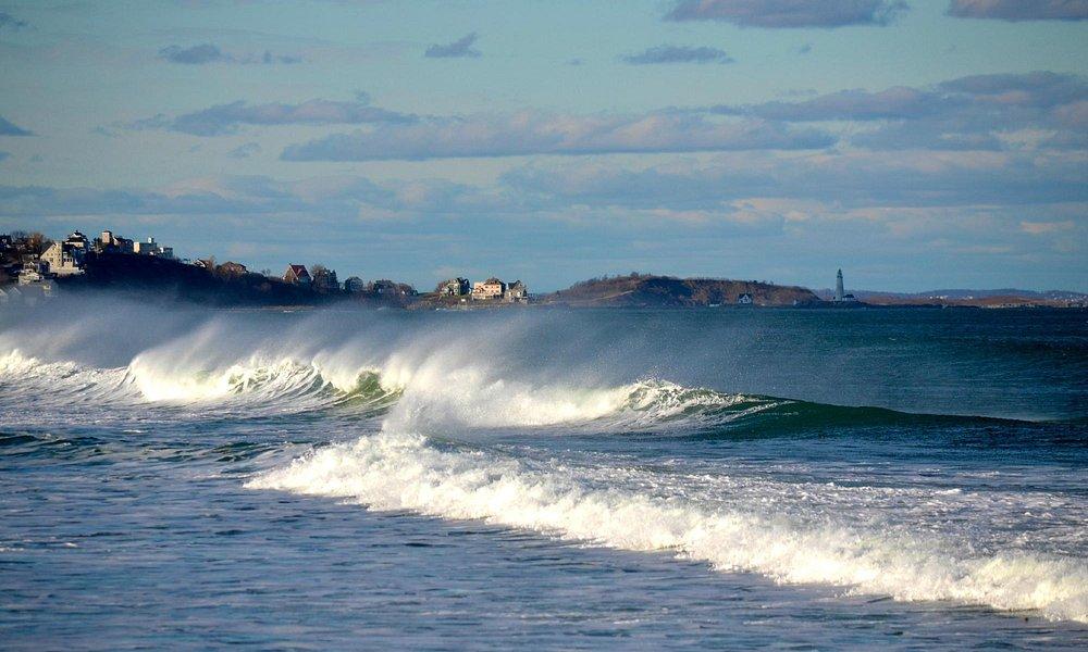Waves of joy at Nantasket