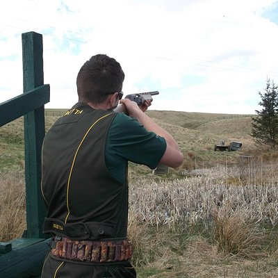 clay pigeon shooting Edinburgh