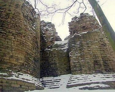 The Castle in winter 2013