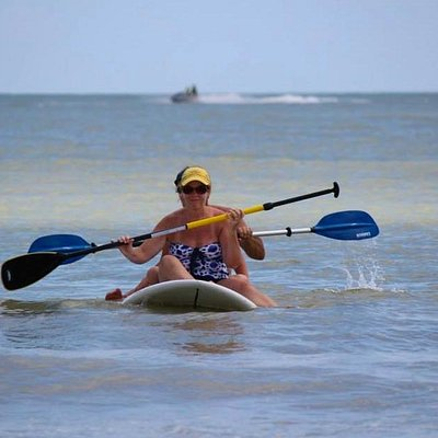 Paddle Surfing For Two