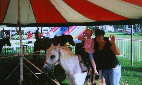 Me and my sweet girl at the fair!