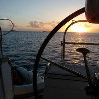Sunset from Tamarindo Bay