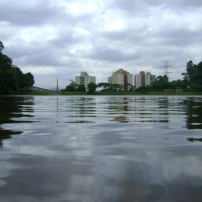 Foto do Lago dentro do parque