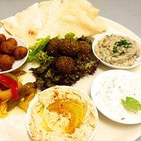 Mediterranean Trio (Our signature dish)