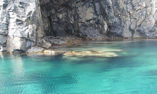 una piccola grotta