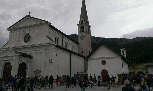 la chiesa di livigno