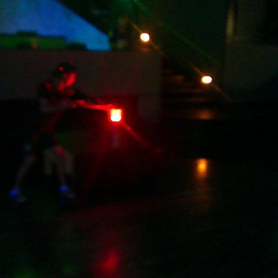 Laser Tag game in Blackpool