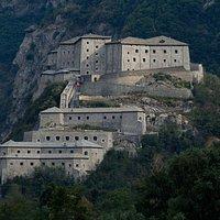 Il Forte di Bard, veduta generale