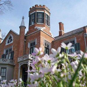 The Castle in Marietta, OH in Spring