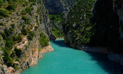 Great canyon of Verdon