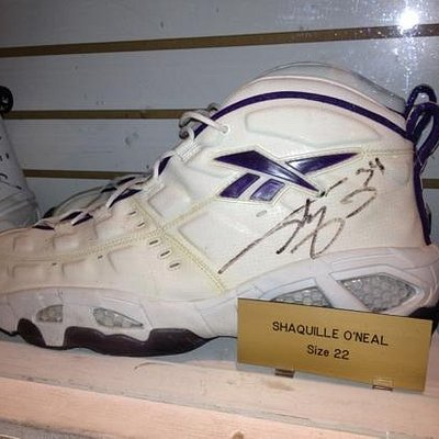 Shaq's Shoe