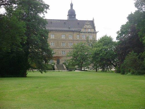 Schloss - vista do jardim