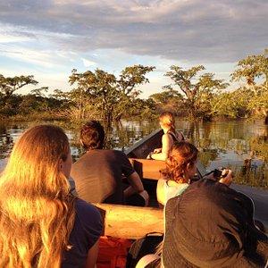 Canoe tour from Cuyabeno Lodge