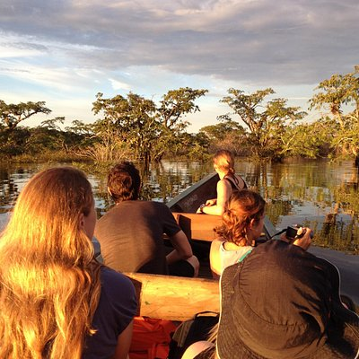 Canoe tour from Cuyabeno Lodge