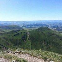 une des  vues du sommet