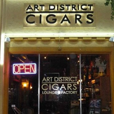 Art District Cigars from the outside.