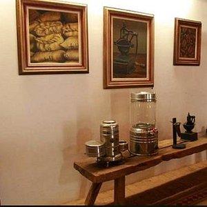 Belo acervo do museu do café!