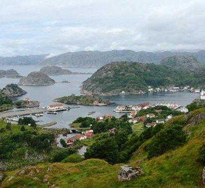 Blick vom Fort auf die Bucht