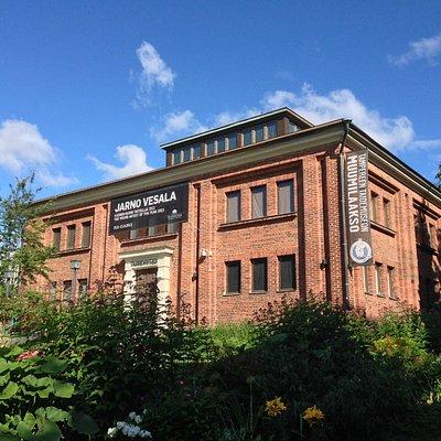 タンペレ市立博物館の地下に、ムーミン谷があります。