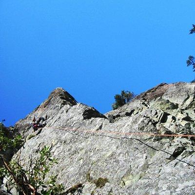 Rock Climbing at Mount Erie
