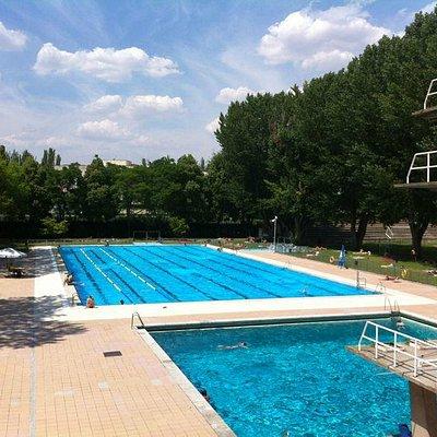 Panoramica de las piscinas