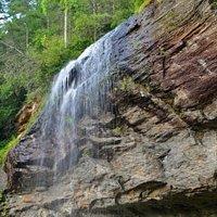 Top of Bridal Veil Falls