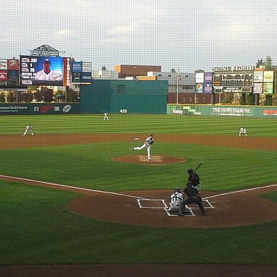 First pitch, great seating under $50 for 4 adults