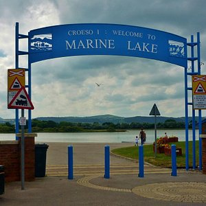 Marine Lake, Rhyl
