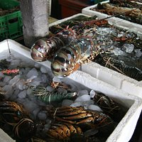 Рыбный рынок в Джимбаране